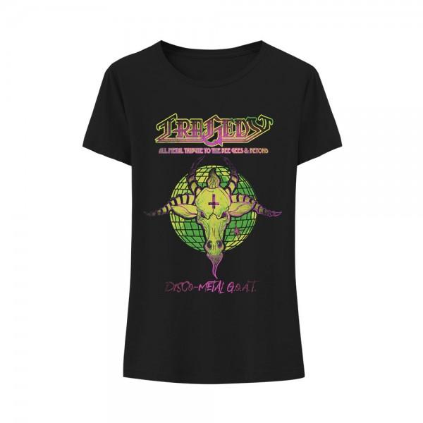 T-Shirt (w) Disco-Metal G.O.A.T.